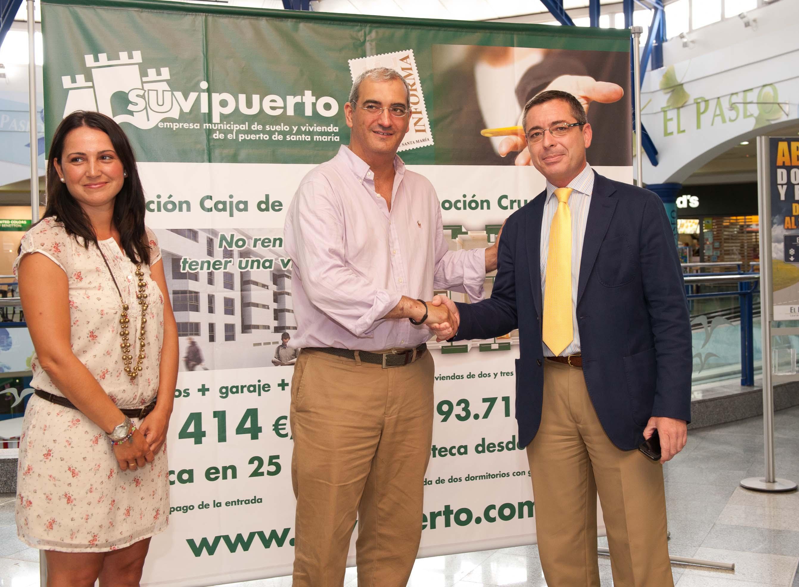 Suvipuerto informa sobre las promociones de VPO en el Centro Comercial  El Paseo.