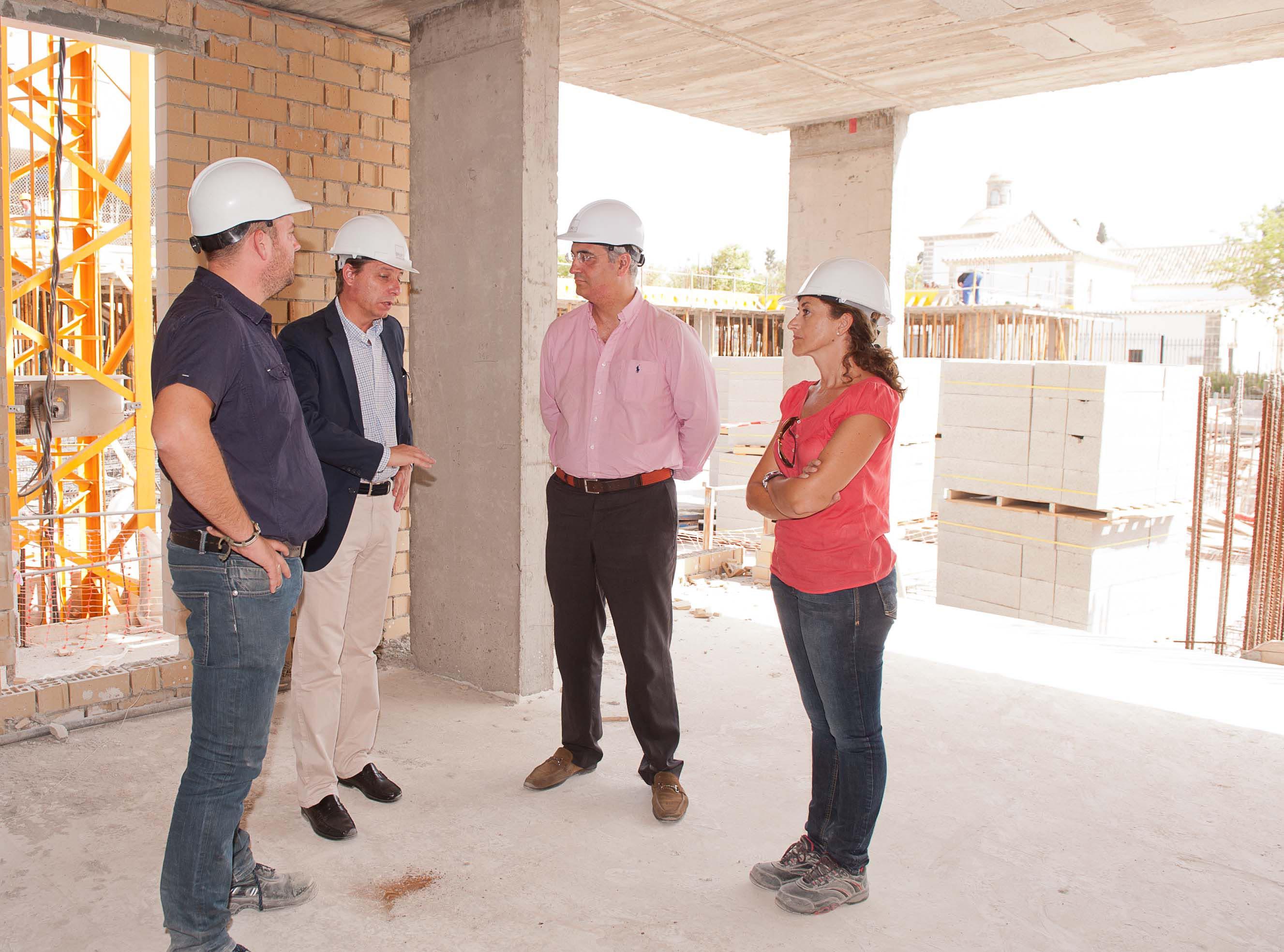 Ruiz confirma que las obras de Santa Clara avanzan a muy buen ritmo .